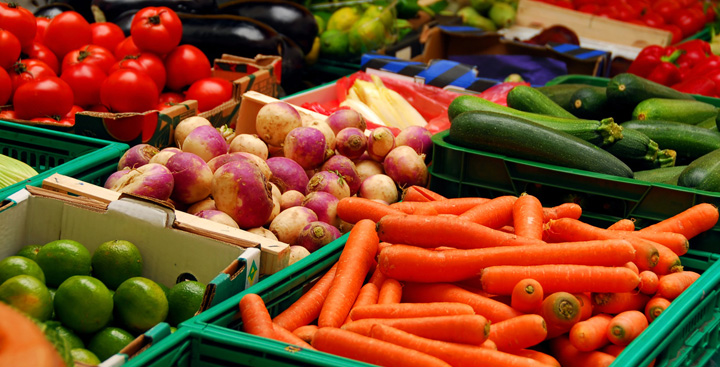 Fresh fruit and vegetables RI MA
